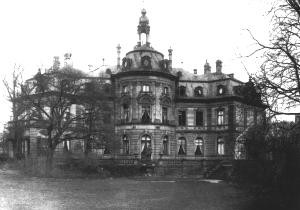 Heylshof, Gartenfassade