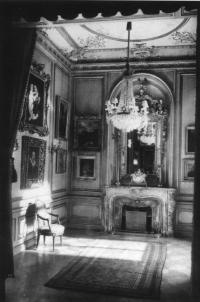 Das Boudoir nach der Umgestaltung zum Museum 1926