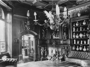 Das Herrnzimmer des Heylshofes nach der Umgestaltung zum Museum 1926