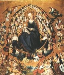 Meister der Verherrlichung Mariae: Verherrlichung Mariens (Kat. Nr. 2)