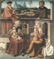 Anton Woensam von Worms: Glieder der heiligen Sippe (Kat. Nr. 4)