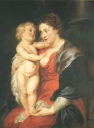 Peter Paul Rubens: Maria mit Kind (Kat. Nr. 14)