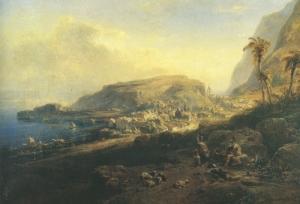 Eduard Hildebrandt: Madeira (Camara de Lobos) (Kat. Nr. 81)