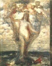 Arnold Böcklin: Venus Anadyomene (Kat. Nr. 90)