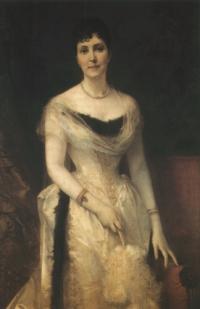 Friedrich August von Kaulbach: Bildnis Sophie Heyl, geb. Stein (Kat. Nr. 102)