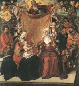 Die heilige Anna mit Anverwandten