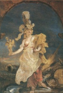 Maria von Medici als Bellona
