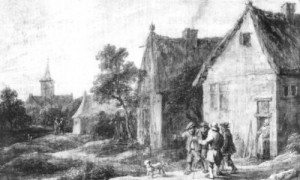 Zwei Dorfstraßen (1)