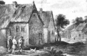 Zwei Dorfstraßen (2)